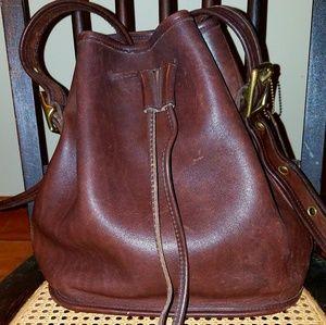 COACH Vintage Lula's Legacy Bucket Bag